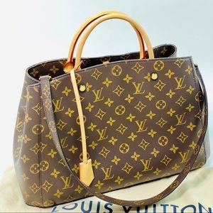 Louis Vuitton Montaigne GM Monogram Canvas Bag